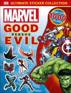 חוברת מדבקות – Marvel Good versus Evil
