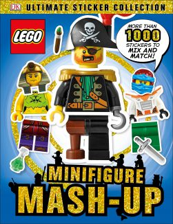 חוברת מדבקות – Lego Minifigure: Mash-Up